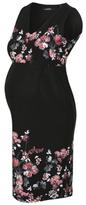 George Sleeveless Floral Print Maternity Dress