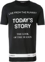 Dolce & Gabbana runway print T-shirt