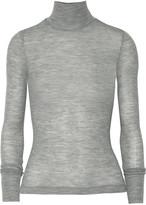 Alexander Wang Ribbed wool turtleneck sweater