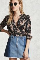 Forever 21 FOREVER 21+ Floral Print Shirt