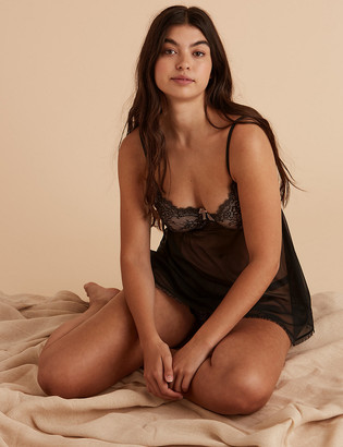 Marks and Spencer Eyelash Lace Babydoll Camisole