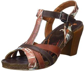 Art 0239f Fantasy I Feel, Women's Open Toe Heels Sandals, Multicolour (Safari), (38 EU)