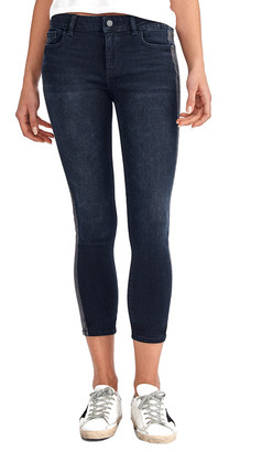 DL1961 Premium Denim Florence Otis Cropped Mid Rise Instasculpt Skinny Leg