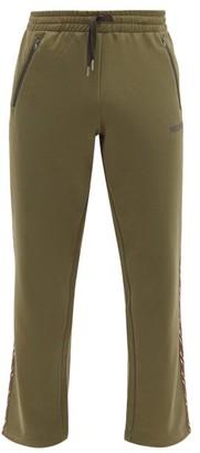 Missoni Chevron-stripe Jersey Track Pants - Khaki