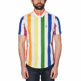 Original Penguin Pride Rainbow Stripe Shirt