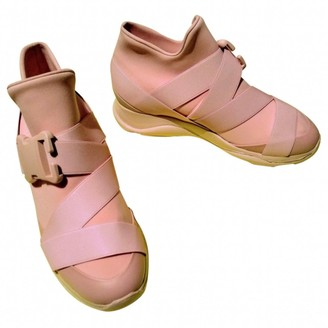 Christopher Kane Pink Polyester Trainers