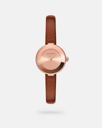 Ted Baker LENARAL Leather strap watch