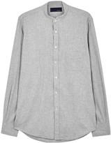 Lardini Grey Cotton Shirt