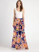 Marcela Floral Printed Maxi Skirt