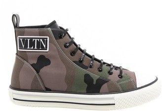 Valentino Camouflage VLTN Giggies Sneakers
