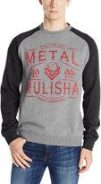 Metal Mulisha Meta Muisha Men's Scotch Crew Ragan Seeve Puover Sweater-arge