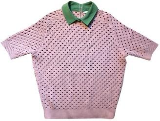 Carven Pink Cotton Knitwear for Women