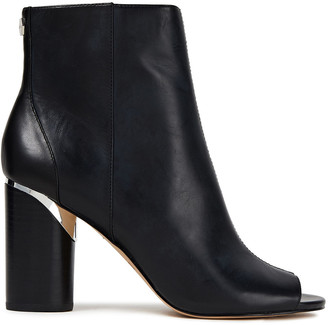 DKNY Benson Leather Ankle Boots