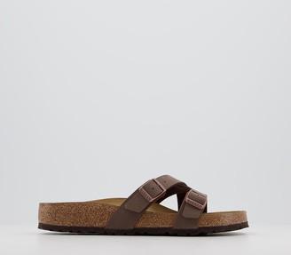 Birkenstock Yao Balance Sandals Mocca Birko