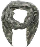 Daniel Green Cotton Mix Camo Print Scarf