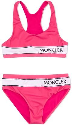 Moncler Enfant Logo Band Bikini Set
