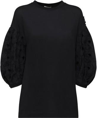 MONCLER GENIUS Simone Rocha T-Shirt W/ Embroidery