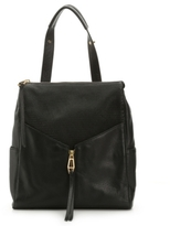 Rian Diamond Leather Backpack