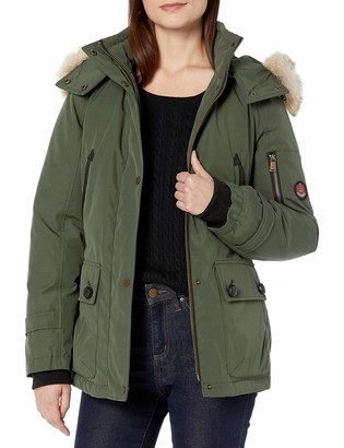 Pendleton Heritage Women's Bachelor Coat with Removable Faux Fur Lined Hood