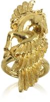 Roberto Cavalli Pegaso Antique Gold Ring