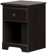 Three Posts Northampt 1 Drawer Nightstand Teen Color: Chocolate