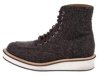 Givenchy Wool Ankle Boots