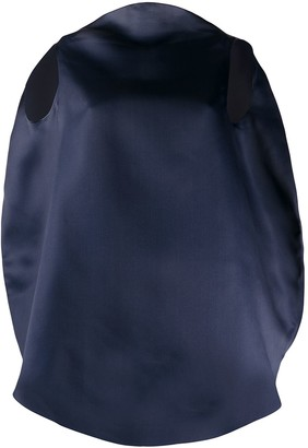 Nina Ricci Oversized Sleeveless Top