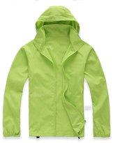 CIKRILAN Unisex Anti-UV Sun Protection Jacket Water Resistant Windproof Raincoat