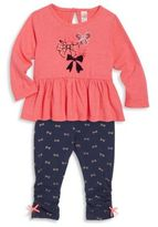 Petit Lem Little Girl's Tunic & Pants Set