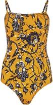 Etoile Isabel Marant Sidony Printed Swimsuit