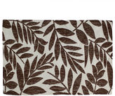 HOMEWEAR Homewear Tropical Leaf Set of 4 Brown Placemats