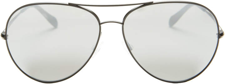 Oliver Peoples Sayer Aviator Sunglasses