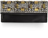 BCBGMAXAZRIA Carina Studded Fold-Over Clutch