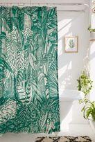 Saskia Pomeroy Plants Shower Curtain