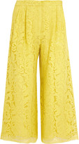 ADAM by Adam Lippes Corded lace culottes