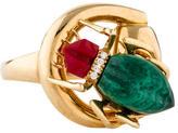 Gucci Horsebit Beetle Cocktail Ring