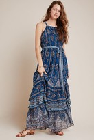 Anthropologie Sasha Ruffled Maxi Dress