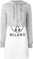 Moschino logo print T-shirt dress - women - Cotton/Polyester/Viscose/other fibers - 40