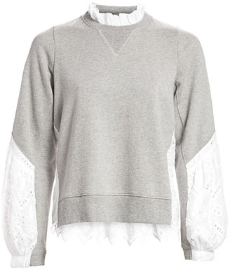 Sea Zippy Combo Sweatshirt