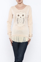 Molly Bracken Owl Sweater