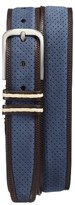 Mezlan Men's Nobuk Leather Belt