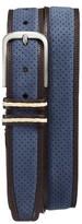 Mezlan Men's Nobuk Leather Belt