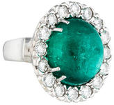 Ring Colombian Emerald and Diamond