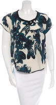 DAY Birger et Mikkelsen Silk Floral Printed Top