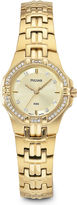 Pulsar Womens Gold-Tone Dress Watch PTC390