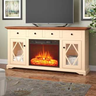 """Darby Home Co Velazco TV Stand for TVs up to 60"""" with Fireplace Darby Home Co"""