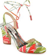 Badgley Mischka Journey Ankle-Tie Sandals