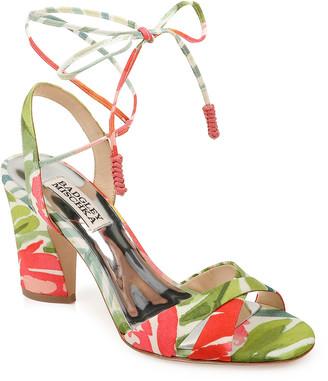 Badgley Mischka Journey Ankle-Tie Sandals