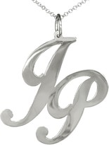 Sterling Silver Personalized Monogram w/ Chain