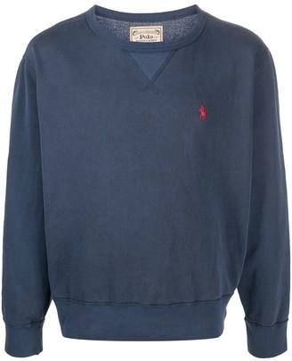 Polo Ralph Lauren Logo-Embroidered Sweatshirt